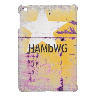 HAMbyWG -Hard Case - Distressed Star iPad Mini Covers