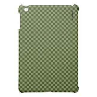 HAMbyWG   Hard Case - Moss Gingham iPad Mini Cover