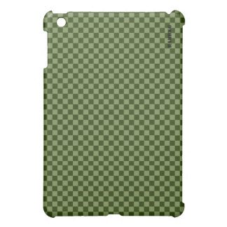 HAMbyWG   Hard Case - Moss Gingham iPad Mini Covers