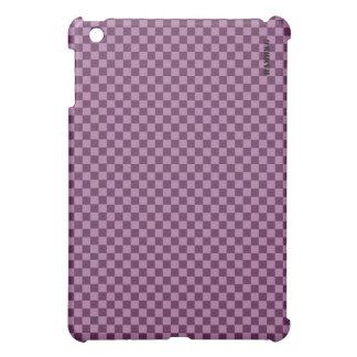 HAMbyWG   Hard Case -  Plum Gingham iPad Mini Cover