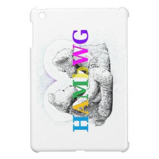HAMbyWG -Hard Case - Teddy Bears W Heart iPad Mini Cover
