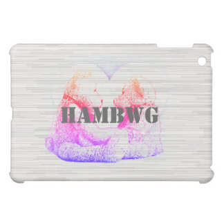 HAMbyWG -Hard Case - Teddy Bears W Heart Retro Case For The iPad Mini