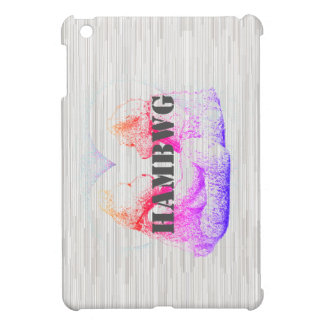 HAMbyWG -Hard Case - Teddy Bears W Heart Retro Case For The iPad Mini