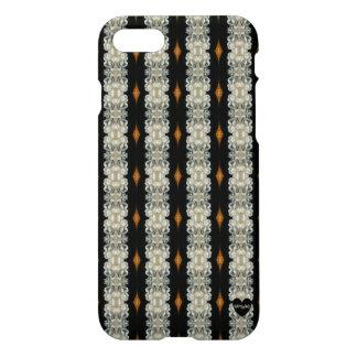 HAMbyWG I Phone 7/7S Case - Black/Ivory Deco