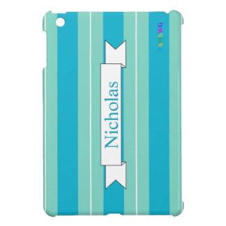 HAMbyWG iPad Mini Glossy Hard Case - Aqua Cover For The iPad Mini