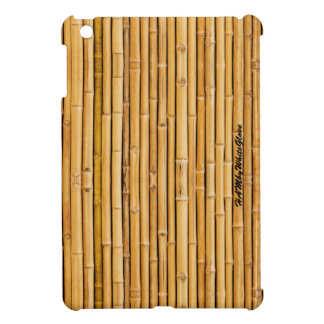 HAMbyWG iPad Mini Glossy Hard Case - Bamboo Cover For The iPad Mini