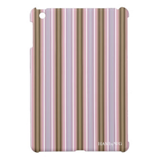 HAMbyWG iPad Mini Glossy Hard Case - Beige & Pink iPad Mini Case