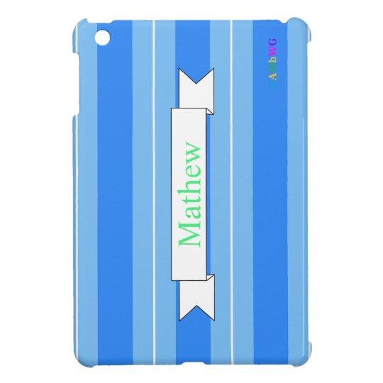 HAMbyWG iPad Mini Glossy Hard Case - Blue ice iPad Mini Covers