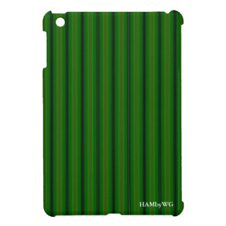 HAMbyWG iPad Mini Glossy Hard Case - Green Glow Cover For The iPad Mini