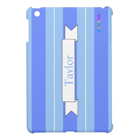 HAMbyWG iPad Mini Glossy Hard Case - Periwinkle iPad Mini Cases