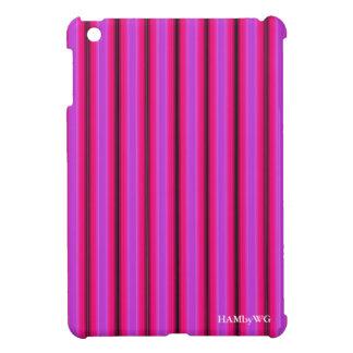 HAMbyWG iPad Mini Glossy Hard Case - Pink/Red Glow iPad Mini Cover