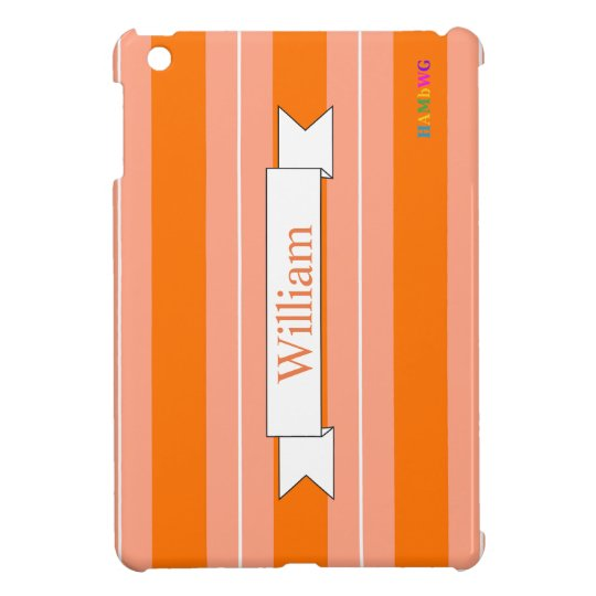 HAMbyWG iPad Mini Glossy Hard Case - Tangerine iPad Mini Cases
