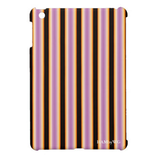 HAMbyWG iPad Mini Glossy Hard Case - Violet Orange iPad Mini Covers