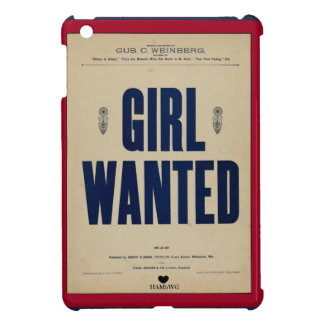 HAMbyWG iPad Mini Hard Case - Girl Wanted Cover For The iPad Mini