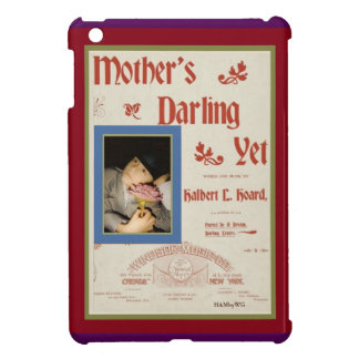 HAMbyWG iPad Mini Hard Case - Mother's Darling Yet Cover For The iPad Mini