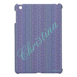 HAMbyWG - iPad Mini Hard Glossy Case - Lilac NP iPad Mini Case