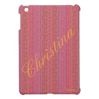 HAMbyWG - iPad Mini Hard Glossy Case - Pink NP Cover For The iPad Mini