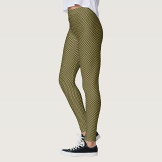 HAMbyWG - Leggings -  Bronze Gingham