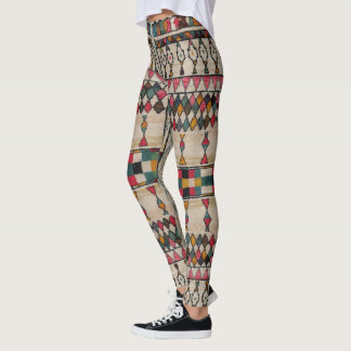 HAMbyWG Leggings Vintage Moroccan Off-White/Pnk/Tl