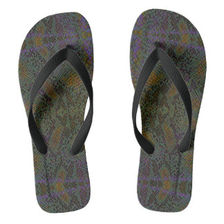 HAMbyWG - Mens Flip-Flops  Snake Thongs