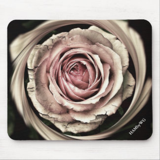 HAMbyWG - Mouse Pad - Antique Rose