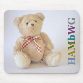 HAMbyWG - Mouse Pad - Teddy Bear