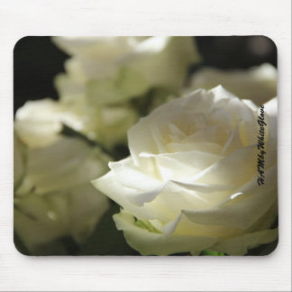 HAMbyWG Mouse Pads - White Roses
