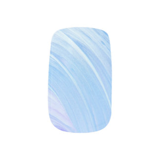 HAMbyWG - Nail Decals - Icy Blue Swirl