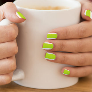 HAMbyWG - Nail Decals - Lime Swirl
