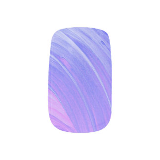 HAMbyWG - Nail Decals - Violet Swirl
