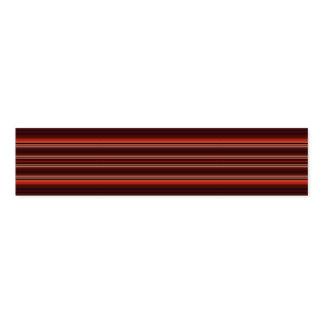 HAMbyWG - Napkin Band - Rich Ruby Red Stripe