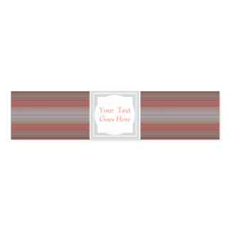 HAMbyWG - Napkin Band - Soft Melon Stripes
