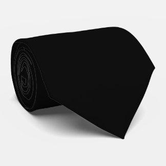 HAMbyWG - Neck Tie - Solid Black