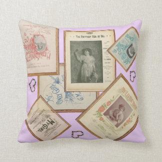 HAMbyWG - Nostalgic Vintage Songbook PIllow