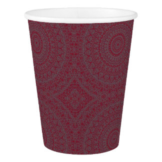 HAMbyWG - Paper Cup, 9 oz - Bohemian Cherry Paper Cup