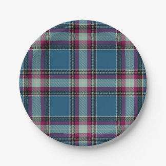HAMbyWG - Paper Plate - Col Blue Plaid