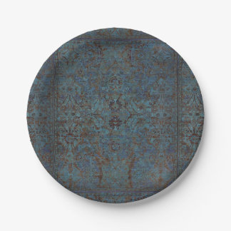 HAMbyWG - Paper Plate - Vintage Teal 7 Inch Paper Plate