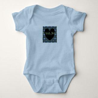 HAMbyWG - Paris Baby Girl in Blue Baby Bodysuit