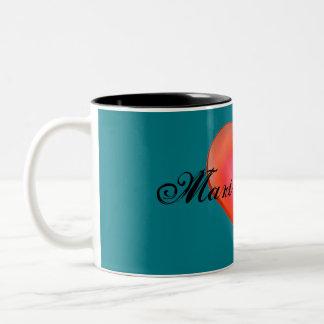 HAMbyWG - Personalizable Mug - Bright Red Heart