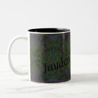 HAMbyWG - Personalizable Mug - Snake - Green/Purp