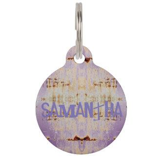 HAMbyWG - Pet Name Tag - Vintage Charm