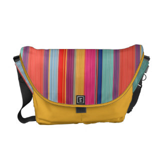 HAMbyWG Rickshaw Messenger Bag - Multi-Colored