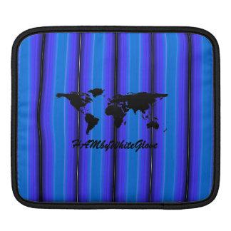 HAMbyWG - Rickshaw Sleeve - Bright Blue Stripe iPad Sleeves