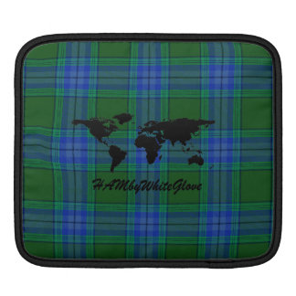 HAMbyWG - Rickshaw Sleeve - Green Blue Plaid