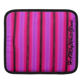 HAMbyWG - Rickshaw Sleeve - Pink Violet Stripe iPad Sleeves