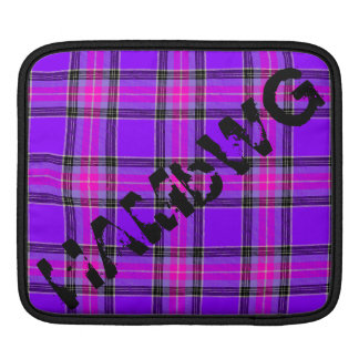 HAMbyWG - Rickshaw Sleeve - Purple Pink Plaid
