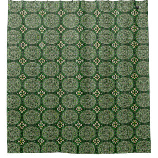 HAMbyWG - Shower Curtain - Green Garden