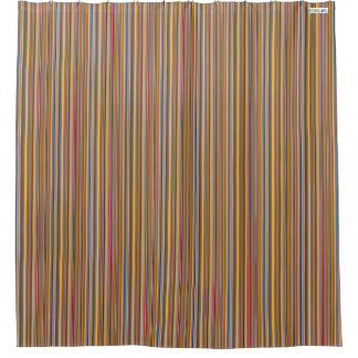 HAMbyWG - Shower Curtain - Rich Primary Colors