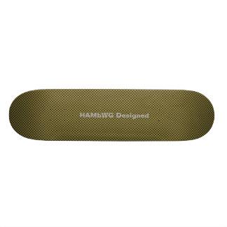 HAMbyWG - Skateboard - Brown Gingham