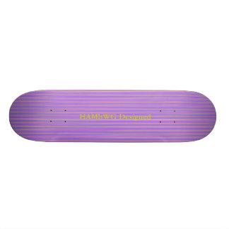 HAMbyWG - Skateboard - Violet Stripes
